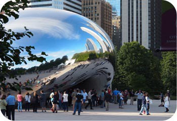 """""""The Bean."""" A fun and free attraction"""